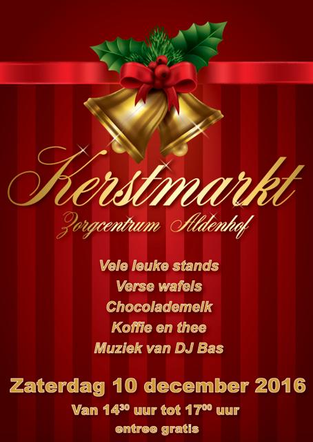 Kerstmarkt Zorgcentrum Aldenhof